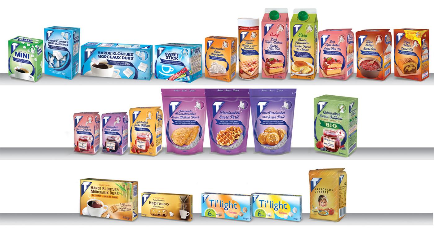 Tiense Suiker Consumenten Producten 2018 2